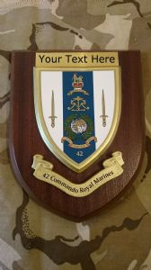 42 Commando Royal Marines Personalised Military Wall Plaque